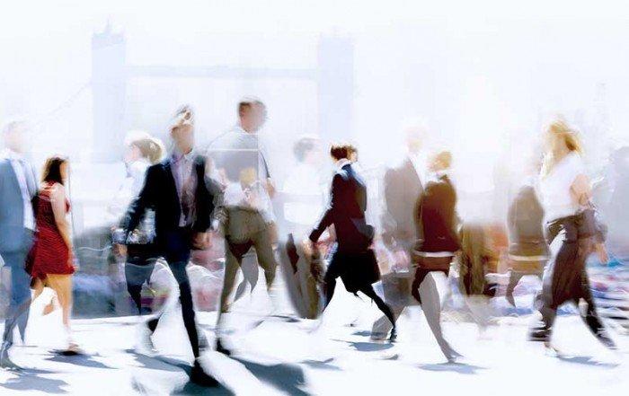 People Crossing the Steet